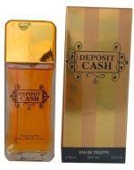 Perfume de Hombre Deposit Cash x 4 Und. Medida : 100ml.