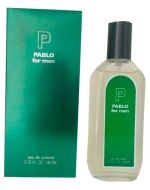 Perfume de Hombre Pablo For Men  x 6 Und. Medida : 80ml.