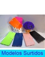 Carcasa Flip Cover Liso Billetera  Sony x 3 Unds.