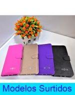 Carcasa Flip Cover Liso Mate Huawei x 3 Unds.