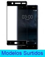 Vidrio Curvo Nokia  x 3 Unds.