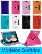 Funda Lisa Universal Tablet Giratoria Samsung  x 3 Unds.