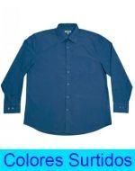 Camisa Lisa de Hombre x 3 Unds. Tallas: 46 - 54