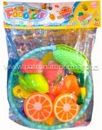 4  Set Bolsa de Frutas y Verduras