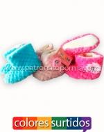 Pantuflas para Bebés x 36 Pares Talla: 6 -12 Meses