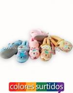 Pantuflas para bebés x 36 Pares Talla: 6 - 12 Meses