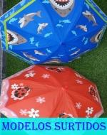 Paraguas 8 Varillas x 12 unds