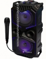 Parlante con Bluetooth con Micrófono x 1 Unid.