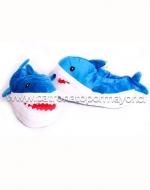 Pantufla Tiburon x 4 Pares Talla: Grande