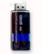 Pendrive Maxell 4GB x 4 Unids.