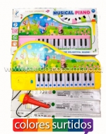 Piano de Juguete x 3 Unidades