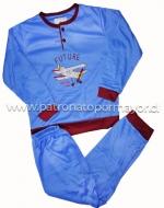 Pijama de Niño x 4  unds Tallas: 4 - 6 - 8 - 10
