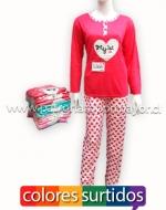 Pijama de Dama x 12  unds Tallas: S- M- L- XL