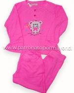 Pijama Juvenil x 3  unds Tallas: 12 - 14 - 16
