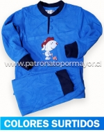Pijama de Niño Polar x 4 Unidades Tallas: 4 - 6 - 8 - 10