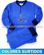 Pijama Juvenil Polar x 3 Unidades Tallas: 12 - 14 - 16
