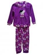 Pijama Polar niña x 4 unds : 4 - 6 - 8 - 10