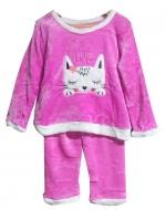 Pijama Plush niña x 6 unds Tallas: 6 - 8 - 10 - 12 - 14 - 16