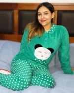 Pijama de Dama de Plush x 4 Unidades Tallas: S - M - L - XL