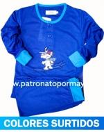 Pijama de Niño Algodón x 4 Unidades Tallas: 4 - 6 - 8 -10