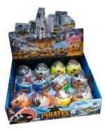 Huevo Pirata Lego x 12 Unds.  Medidas : 10 cm Aprox.
