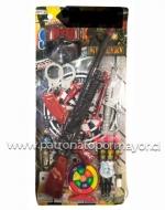 Arma de Juguete con Munición x 3 Unidades