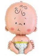 Globo Baby Boy x 12 Unds.