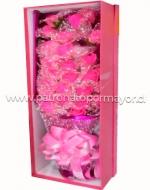 Ramo de Rosas Artificiales x3 Unds. Medida: 20cm Aprox.
