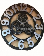 Reloj de Pared x3 Und. Medida: 36 cm x 36 cm.