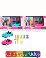 x3 Set de Princesas con Accesorios