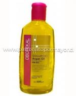 Shampoo Keratina sin sal Argan Oil OBOPEKAL 500 ml x 3 unid