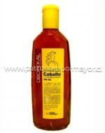 Shampoo Keratina sin sal Caballo OBOPEKAL 500 ml x 3 unid