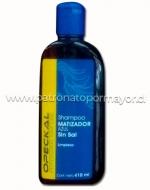 Shampoo Matizador sin sal Azul OBOPEKAL 410 ml x 3 unid