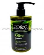 Shampoo ROCCO Olive Profesional 500 ml x 3 unid
