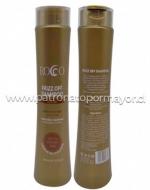 Shampoo ROCCO Frizz Off 400 ml x 3 unid