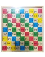 Tabla Multiplicar Madera x 4 unds.