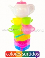 x6 Set Tazas Multicolores