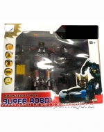 Juguete Super Robot x 3 Unidades
