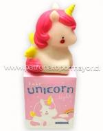 Lampara Led Unicornio x 3 Unds. Medidas: 13 x 7.5 x 9 cm Aprox.