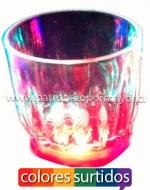 Vaso de Acrilico  con Luz x6 Unds