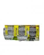 12 Set  de Vasos de Vidrio