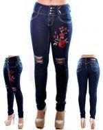 Jeans Dama  x 6 Unds. Tallas : 36 - 46