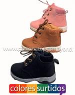 Zapatillas de Niños x 18 Pares Talla: 20 - 25